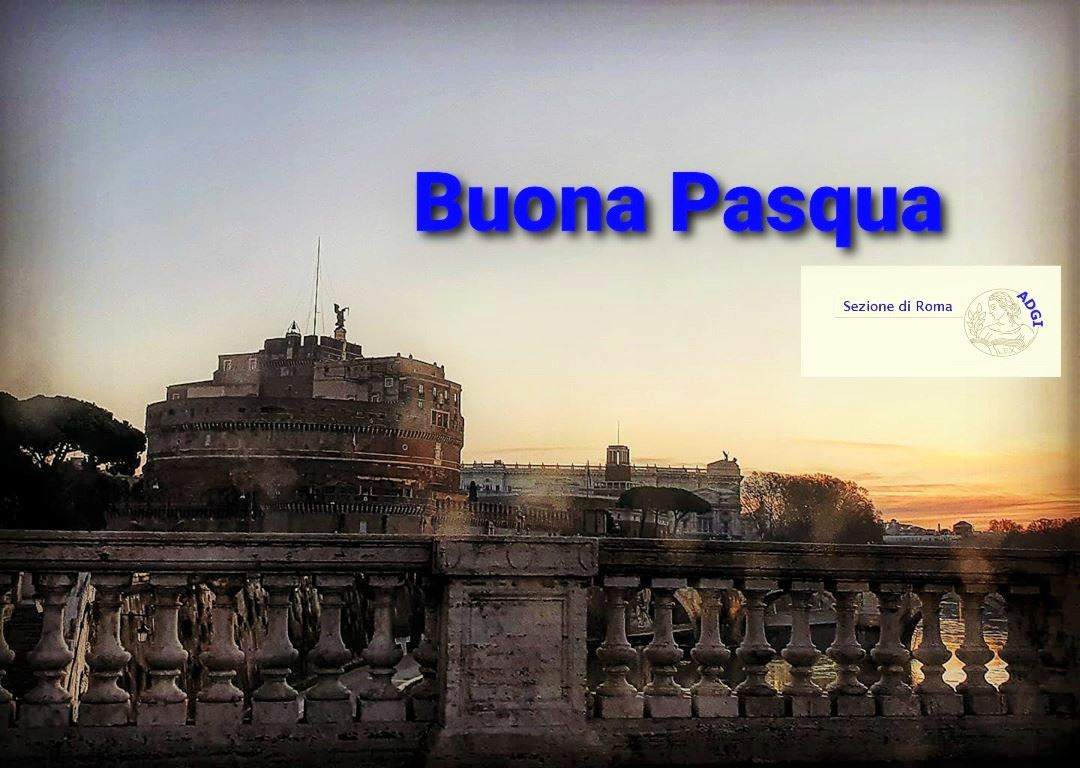 ADGI Sezione di Roma vi augura buona Pasqua